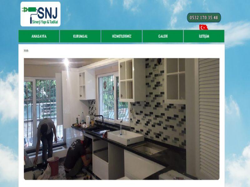 SNJ Yapı Tadilat / İzmir internet sitesi