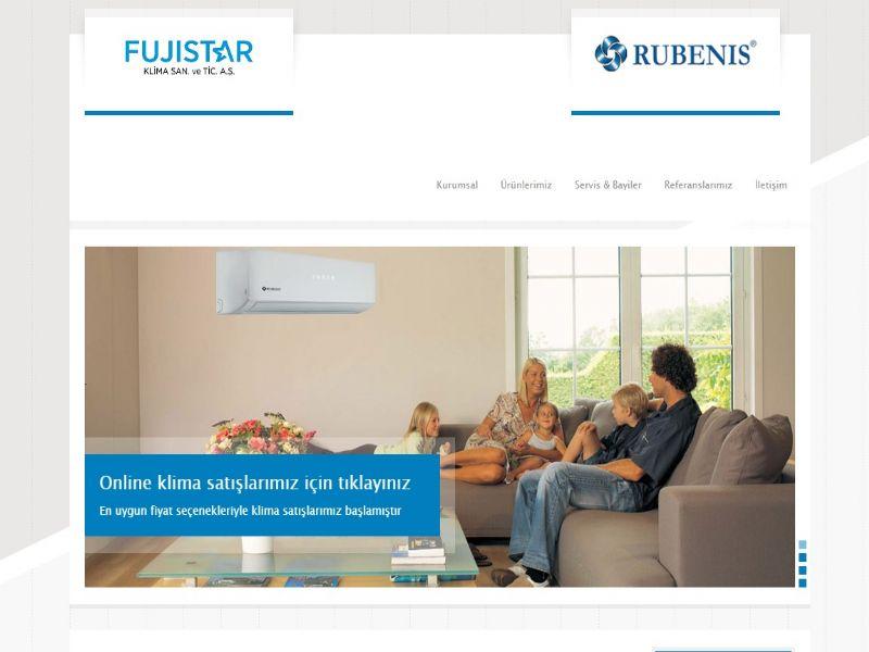 Fujistar Klima - Türkiye internet sitesi