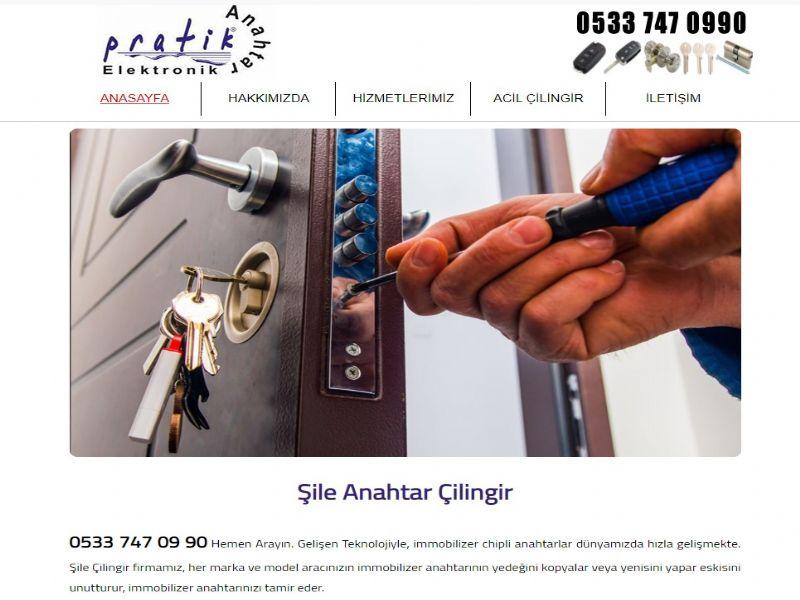 Şile Anahtar Çilingir - İstanbul internet sitesi