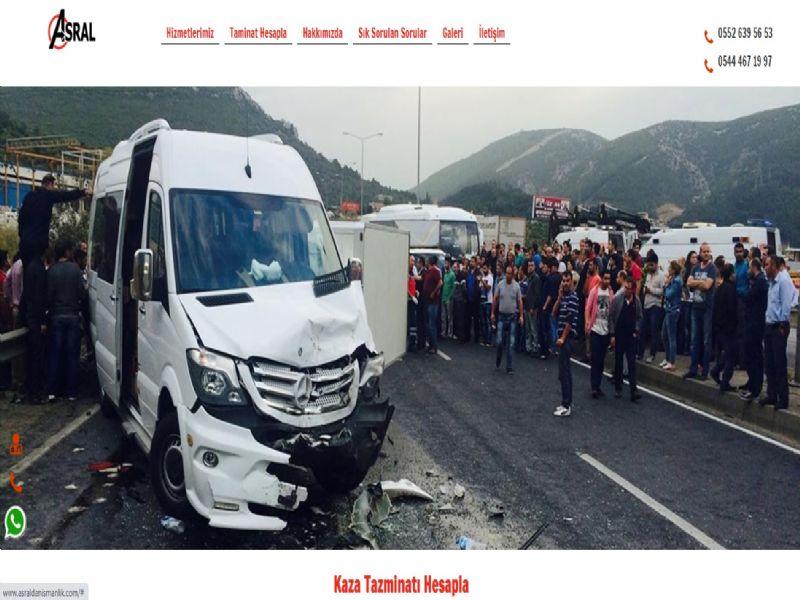 Asral Kaza Danışmanlık - Batman internet sitesi