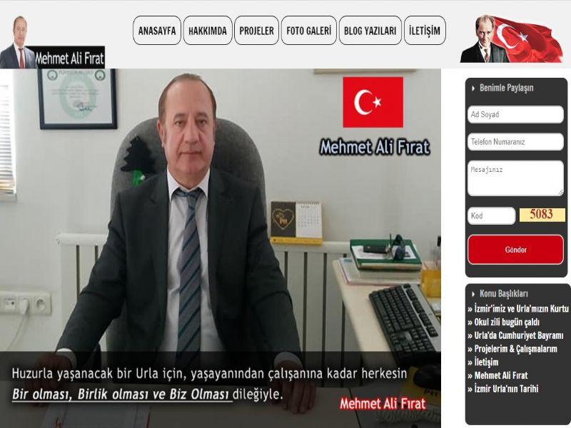 Mehmet Ali Fırat - Urla İzmir web sitesi