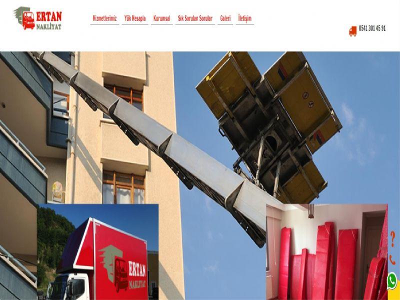 Ertan Nakliyat - İstanbul web sitesi