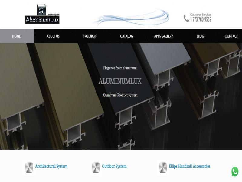 Aluminumlux - Chicago web sitesi