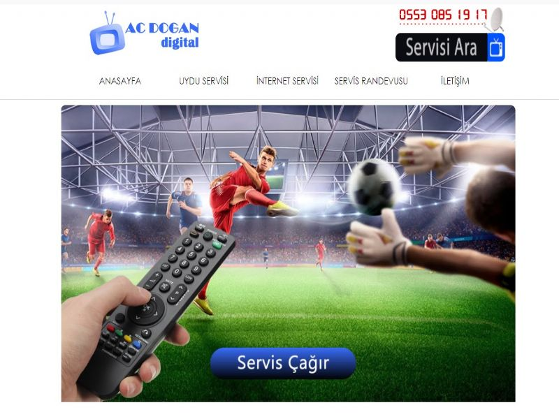 Ac Dogan Digital Uydu Servisi - İstanbul web sitesi