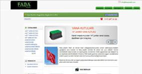 Faba Plastik - İST. internet sitesi